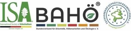 Fachverbände ISA, BAHÖ, Baumpflegeverband